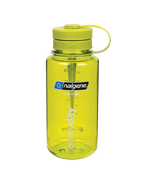 Nalgene Everyday Weithals Pillid Trinkflasche 1000ml hellgrün